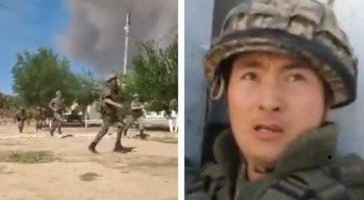 Раз я уже почти умер, то нужно перед смертью спасти тех, кого возможно, - военнослужащий из Арыси (видео)