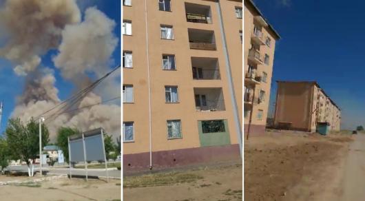 Мародерство в Арыси: Разгромлен магазин и жилой дом
