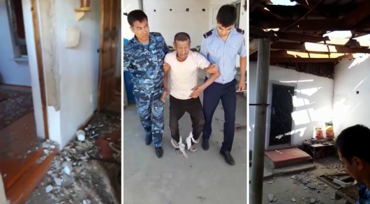 Арысь: Спасли пожилого мужчину, который находился в доме во время взрывов