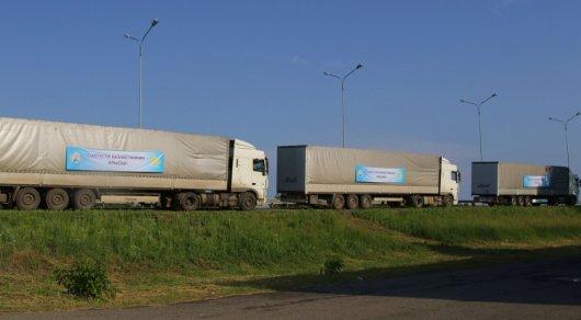 СКО направила более ста тонн продуктов пострадавшим жителям Арыси