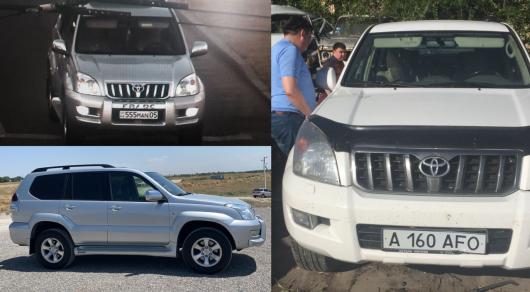Угонщики элитных внедорожников задержаны в Алматы