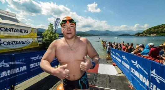 Ержан Есимханов переплыл Ла-Манш за 14 часов
