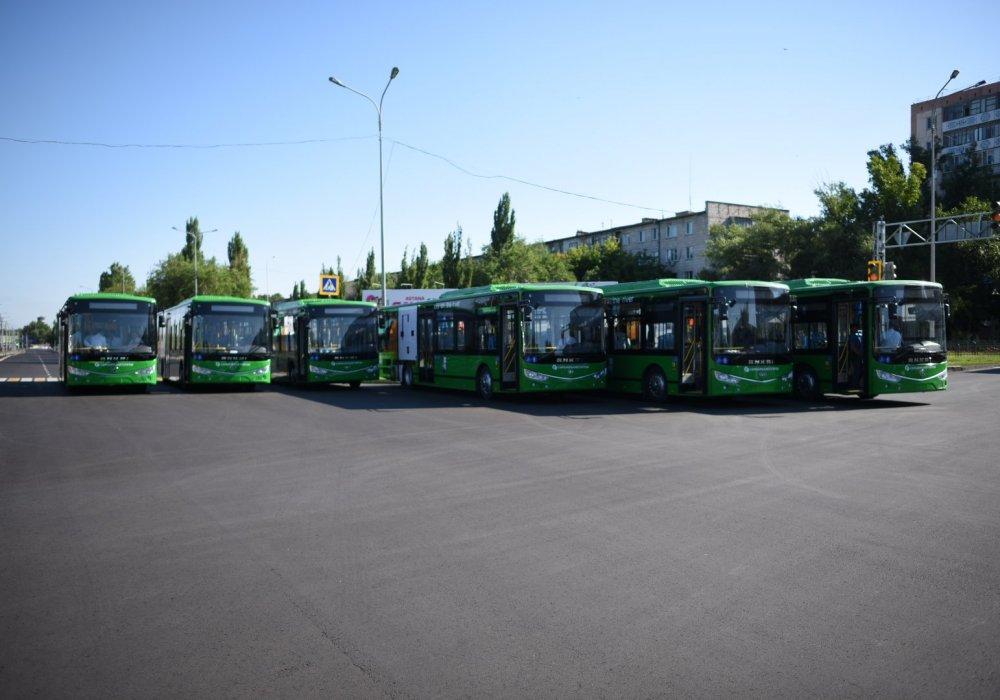 картинки автобусов кокшетау