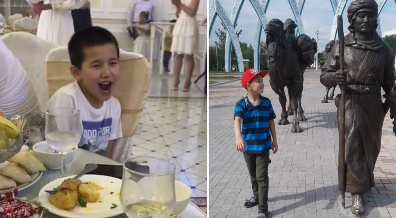 мальчик поет на свадьбе казахстан