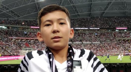 Выбежавший к Роналду юный казахстанец отделался предупреждением