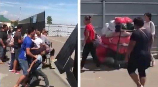 Разгром в Хоргосе: учасников инцидента привлекли к ответственности (ВИДЕО)