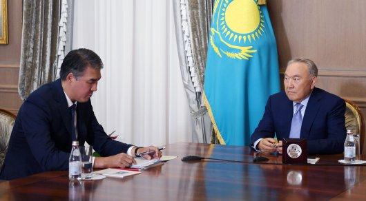 Токаев, правительство и Парламент страны работают слаженно - Назарбаев