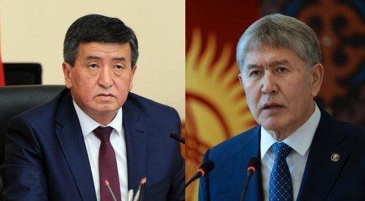 Задержание Алмазбека Атамбаева. Что происходит удома экс-президента Кыргызстана