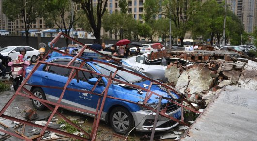 Супертайфун убил 22 человека в Китае- REUTERS