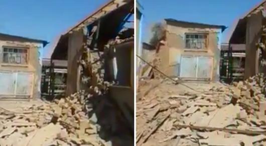 Житель Арыси разрушил топором собственный дом ради получения компенсации