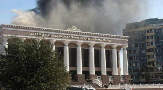 Драмтеатр в Атырау будут восстанавливать за счёт частных инвестиций —