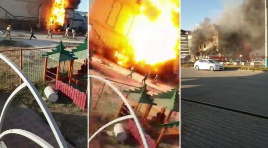 Взрыв в Туркестане: Госнаграды вручили спасшим людей от пожара