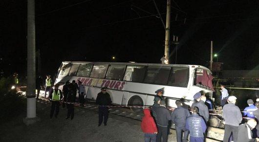 ЧП с поездом в Шамалгане: полицейские ищут очевидцев