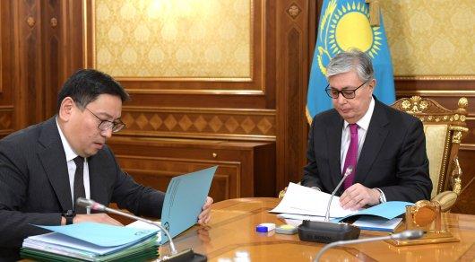 Касым-Жомарт Токаев принял главу Нацбанка