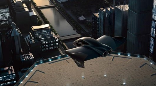 Boeing и Porsche планируют создать летающий электромобиль