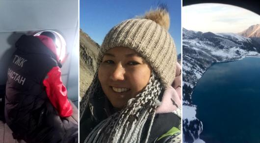 Поиски девушки в горах: облет на вертолете не дал результатов —