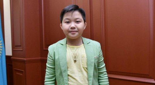 Токаев поздравил Ержана Максима со2 местом на«Детском Евровидении»