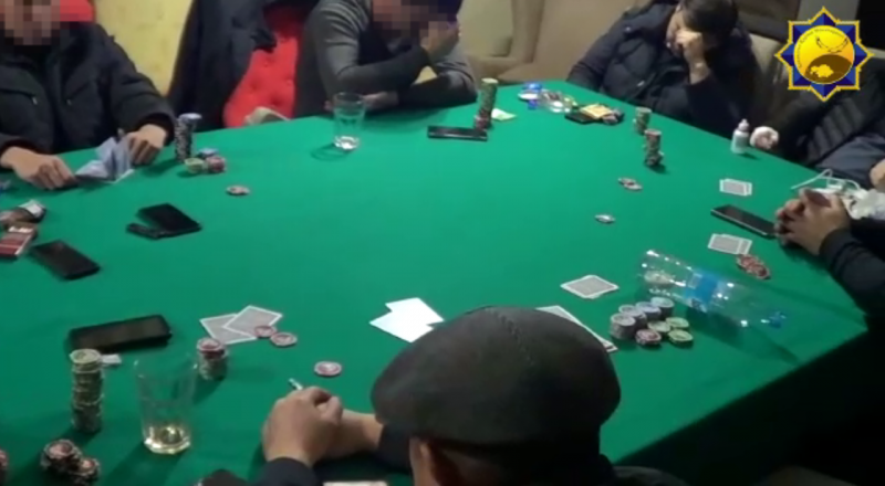 Захват подпольного казино казино онлайн без депозита 2020