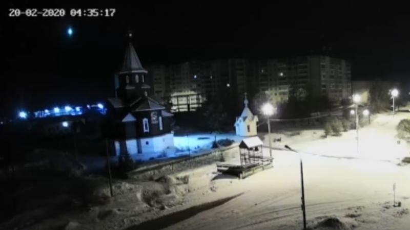 Падающий метеорит сняли на видео в России: 21 февраля 2020 ...