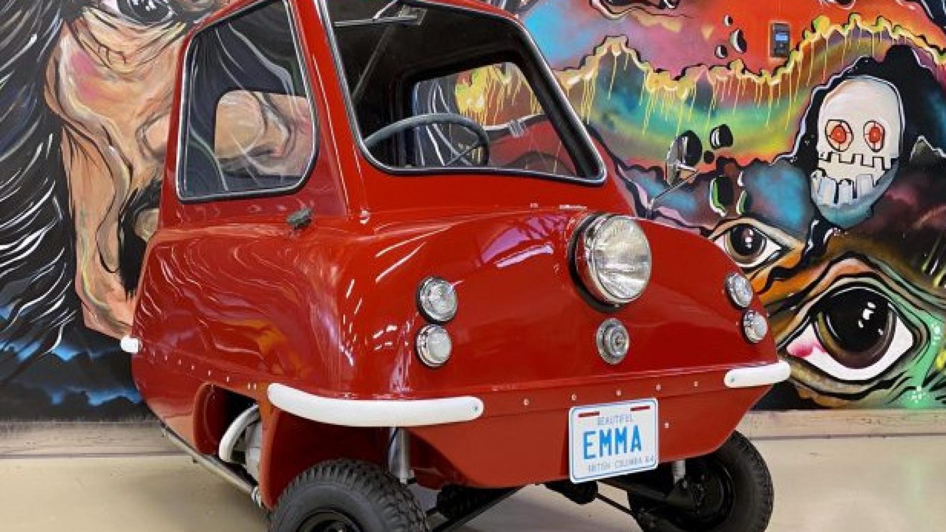 Самое маленькое авто в мире выставили на торги в Канаде ...  Самое Маленькое Животное в Мире