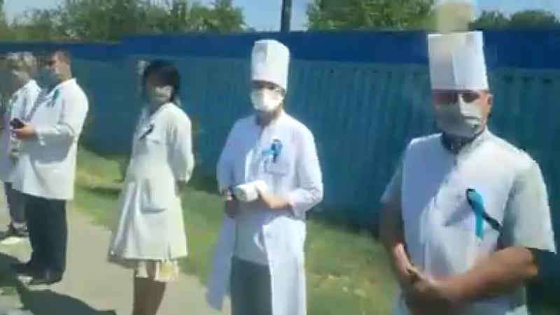 Об акции с медиками в день траура высказался главврач тубдиспансера