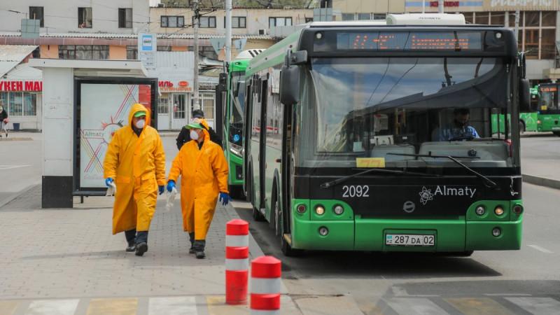 Автобусы и метро не будут работать в Алматы в выходные: 30 июля 2020, 09:36  - новости на Tengrinews.kz