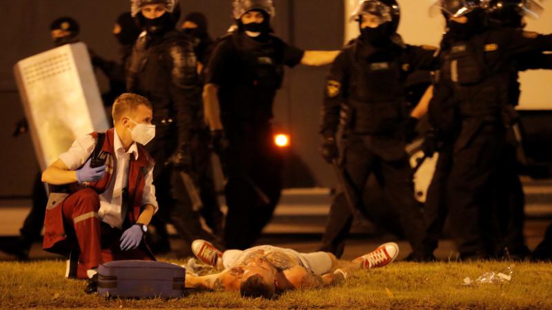 Помпео: США осуждают насилие над демонстрантами вРеспублике Беларусь