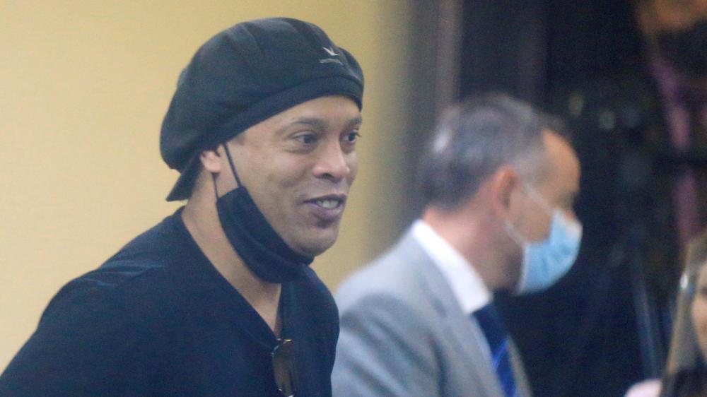 Роналдиньо освободили из-под ареста спустя 5 месяцев