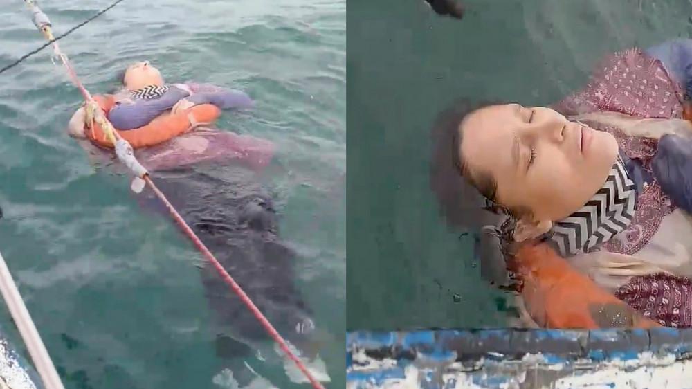 Пропавшую женщину нашли спустя два года плывущей посреди океана