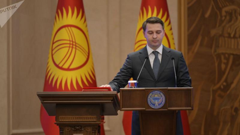 Артем Новиков стал и. о. премьер-министра Кыргызстана