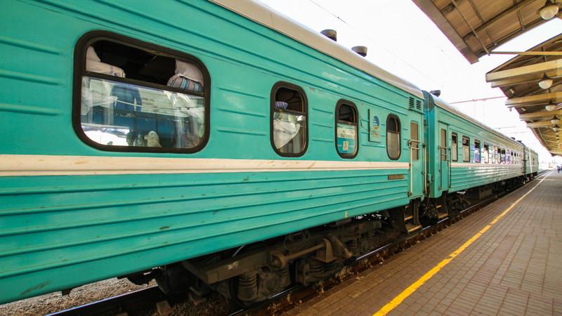 Казахстанка сняла доказательства стихийной торговли в поезде для Байгабулова