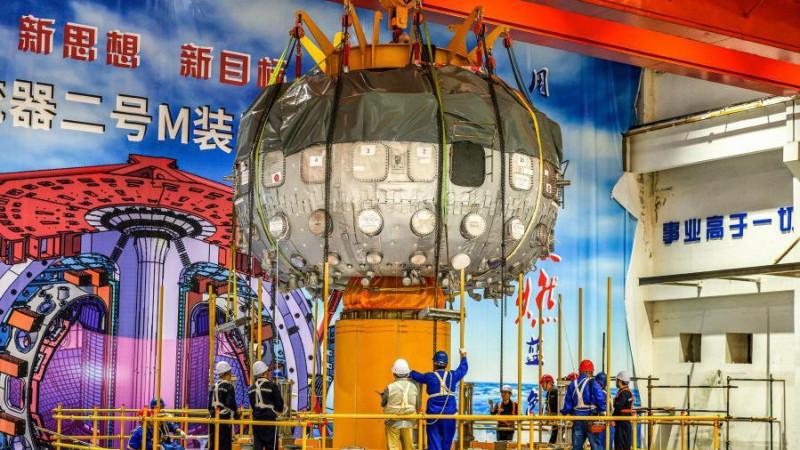 Китай впервые протестировал «искусственное Солнце»