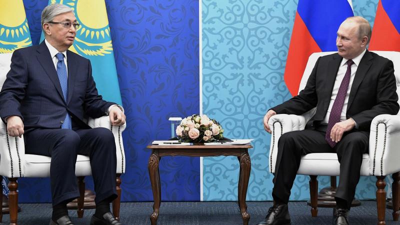 Путин выразил уверенность в наращивании взаимодействия с Казахстаном