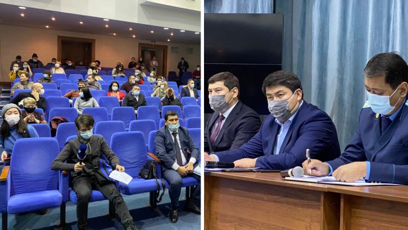 Обманутые вкладчики QI Trade предъявили претензии акиму в Алматы