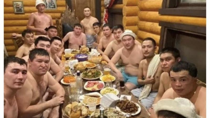 Полицейские Семея отдыхали в бане: руководство начало проверку