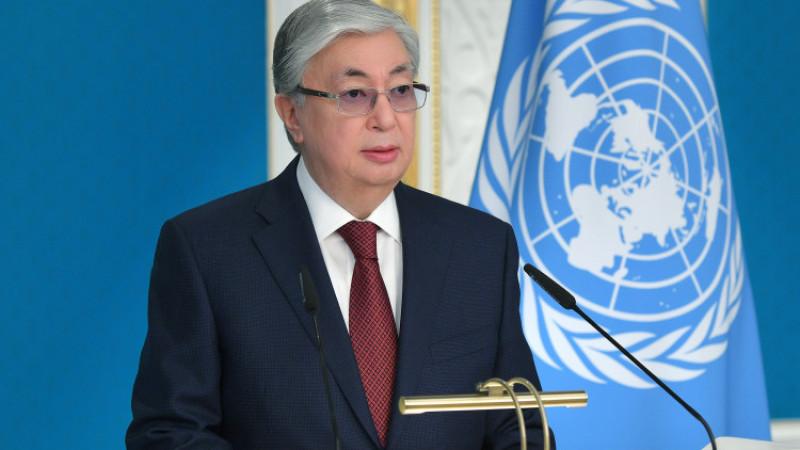 Токаев обратился к международному сообществу с призывом