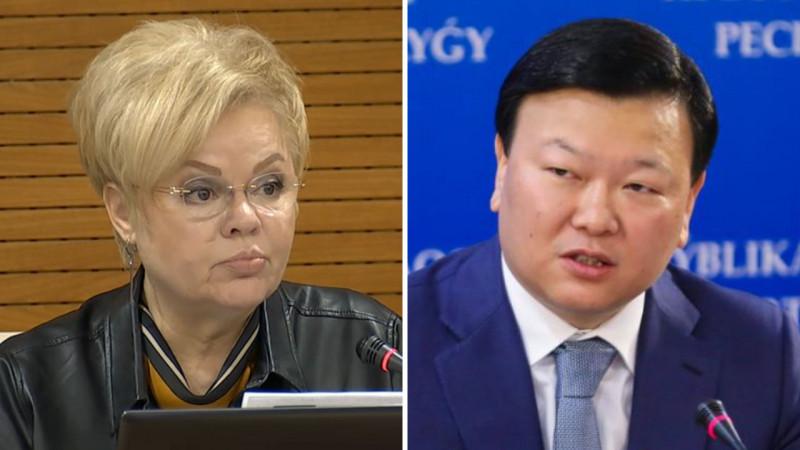 """Цой проваливает работу по вакцинации"""" - депутат раскритиковала Минздрав: 31 марта 2021, 11:50 - новости на Tengrinews.kz"""
