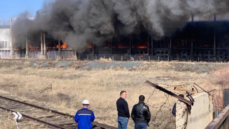 Майнинговая компания горела в Павлодарской области