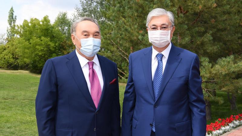 Назарбаев передал Токаеву полномочия председателя АНК