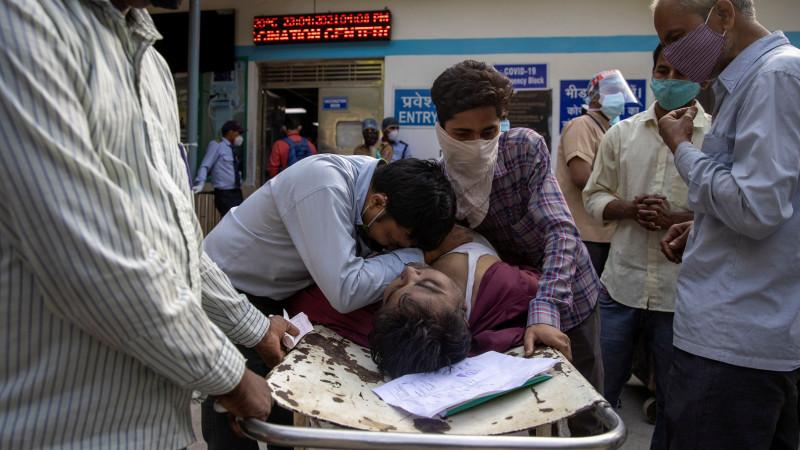 """Коронавирусный шторм"""". Что происходит в Индии: 03 мая 2021, 11:23 - новости  на Tengrinews.kz"""
