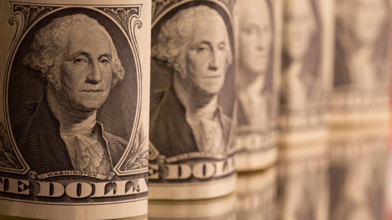 Курс доллара падает на торгах