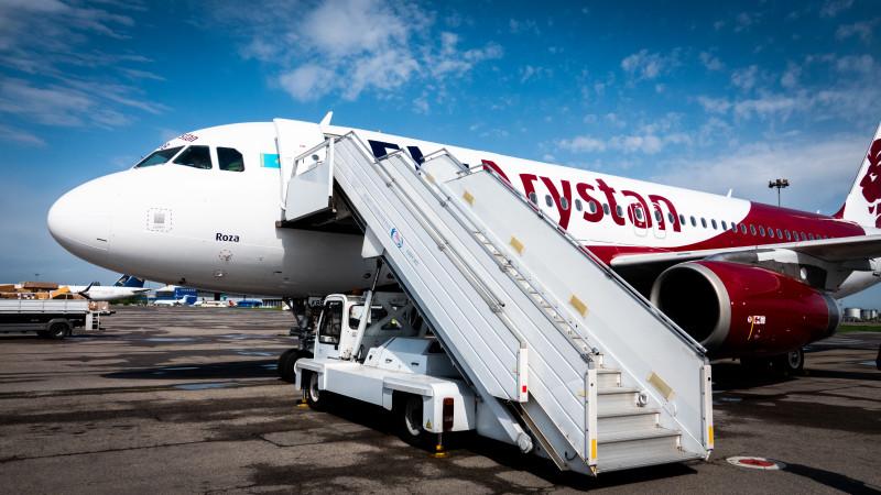 Самолет вернулся в аэропорт Нур-Султана после вылета