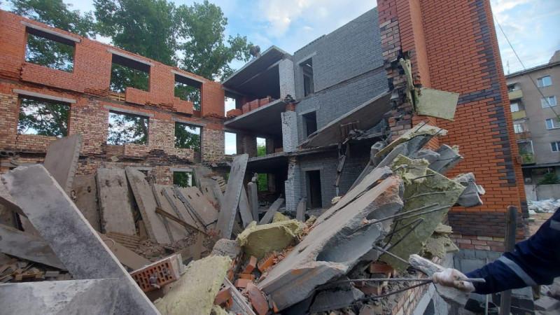 Рухнувший дом в Павлодаре строила компания без опыта - акимат