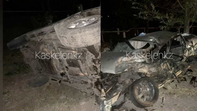 18-летний водитель стал виновником смертельного ДТП близ Алматы