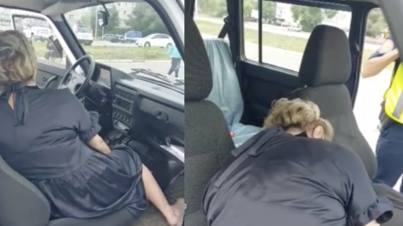 Севшую пьяной за руль чиновницу наказали в Усть-Каменогорске