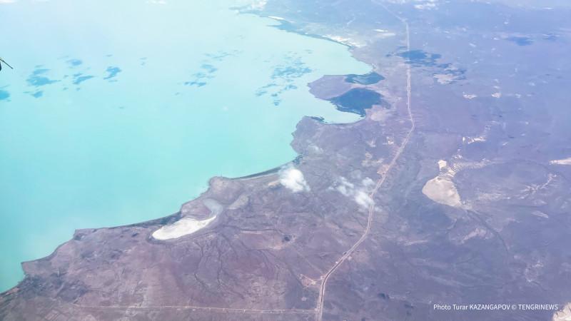 Экологи заявили, что озеро Балхаш в Казахстане исчезает