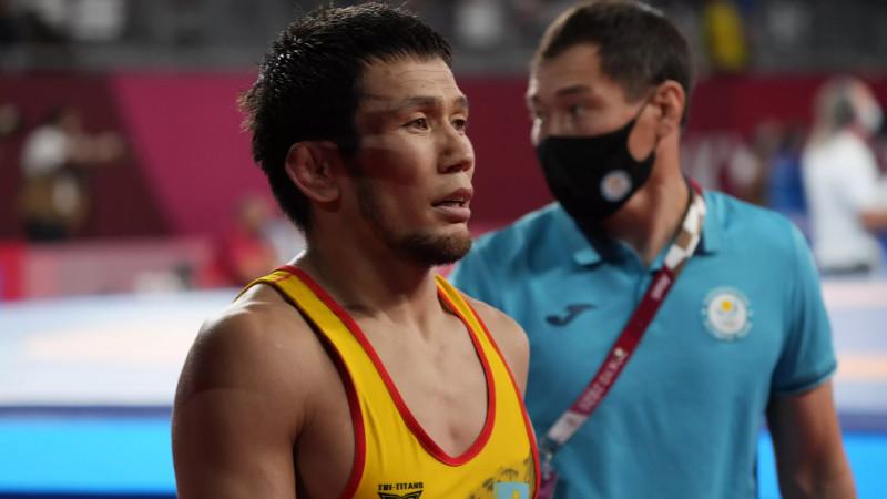 Казахстанский борец победил чемпиона мира на Олимпиаде-2020