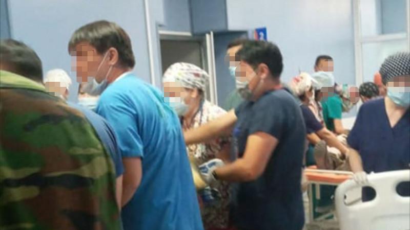 Число пострадавших при взрывах близ Тараза увеличилось до 90