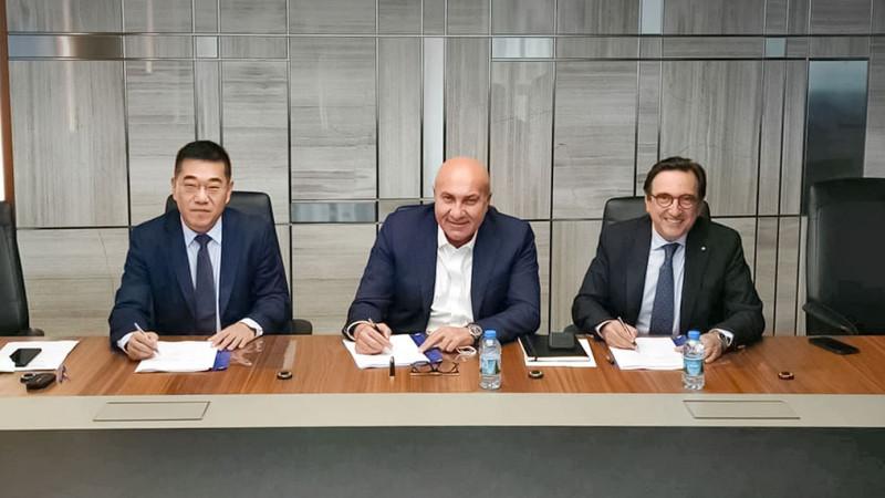 Yıldırım Holding подписал контракт на строительство завода Qazaq Soda:  вчера, 10:05 - новости на Tengrinews.kz