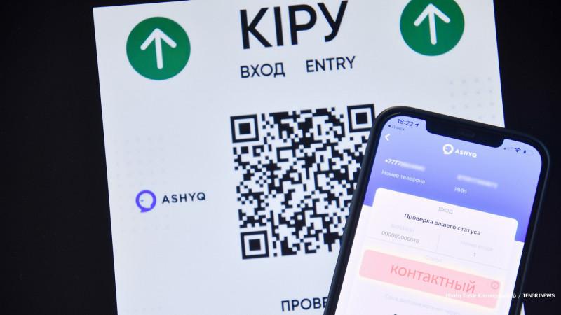 """235 жителей с """"красным"""" статусом оштрафованы в Алматы"""